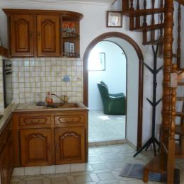 accès au salon indépendant - Location de vacances - Plouguerneau