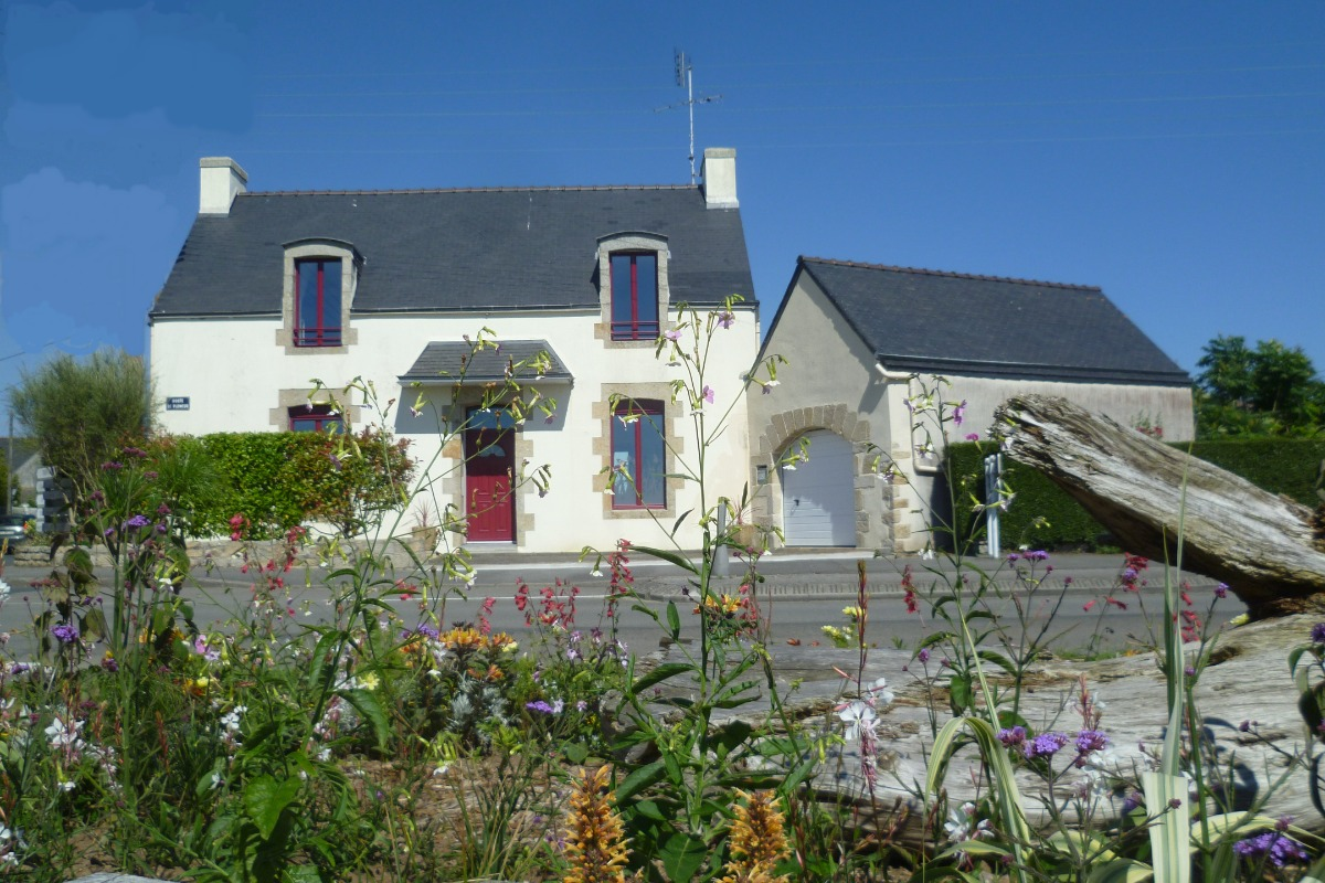 façade de la maison - Location de vacances - Guilvinec