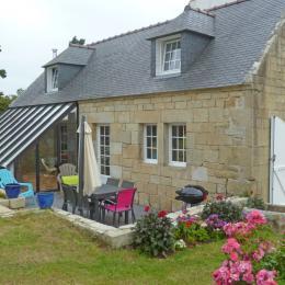 Maison en pierre avec grande verrière - Location de vacances - Plogoff