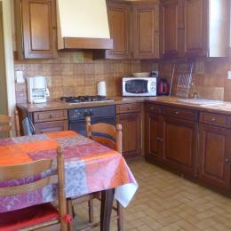 cuisine indépendante - Location de vacances - Daoulas