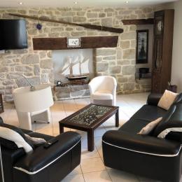 salon lumineux - Location de vacances - Penmarc'h