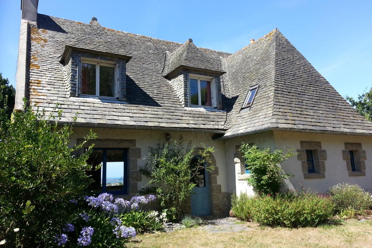 Maison confortable et lumineuse dans un grand jardin arboré - Location de vacances - Roscoff