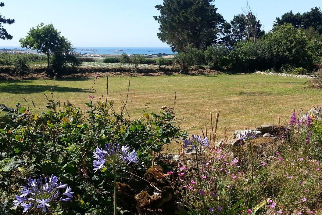 grand jardin avec vue mer - Location de vacances - Roscoff