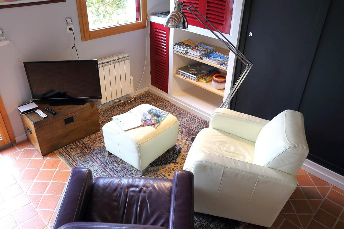 salon - Location de vacances - Logonna-Daoulas