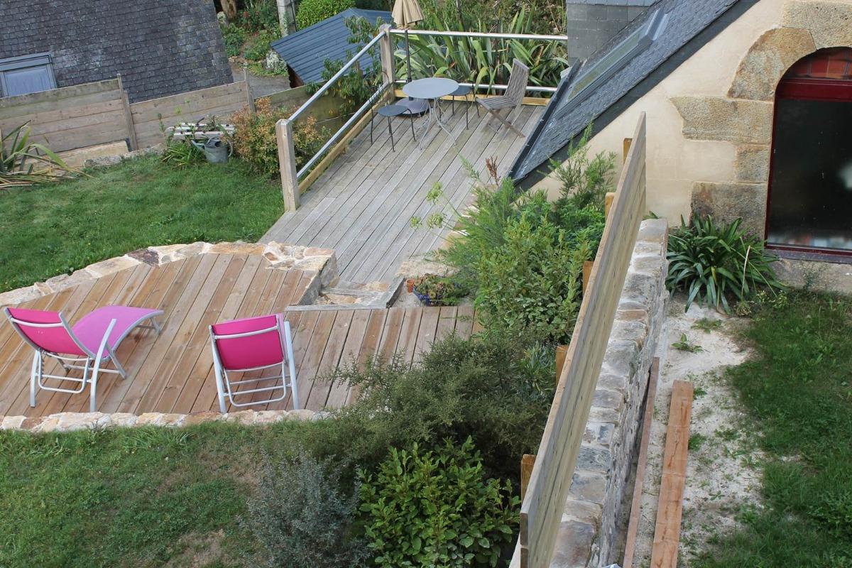 2 terrasses bien exposées avec vue mer - Location de vacances - Logonna-Daoulas