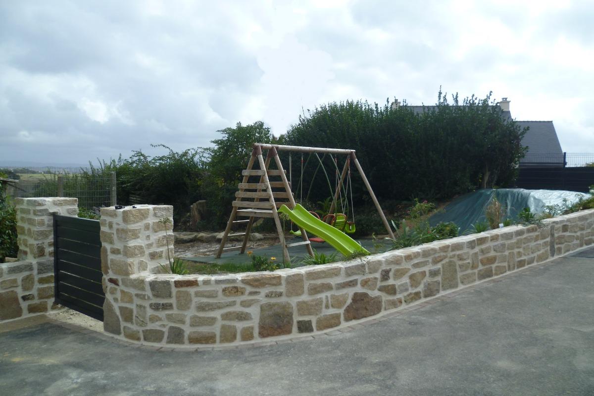 espace jeux enfants face à la maison - Location de vacances - Argol
