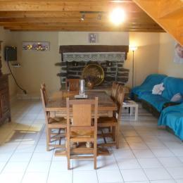 séjour salon - Location de vacances - Argol