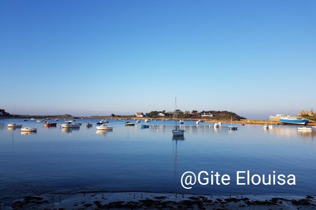 plage et port  d'Argenton à 300m à pied de la location - Location de vacances - Landunvez