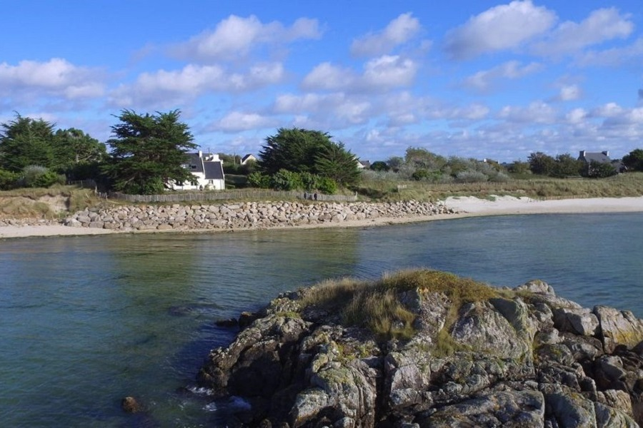 location vue du bord de mer - Location de vacances - Guissény