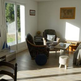 salon - Location de vacances - Guissény