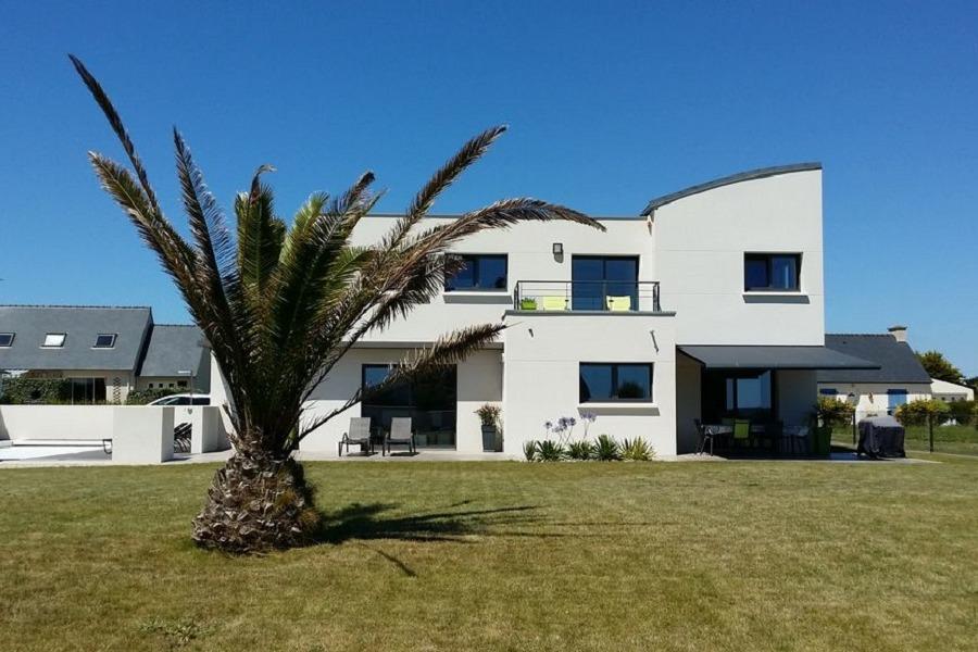 villa contemporaine de 180 m² avec jardin  clos de 1500 m² clos - Location de vacances - Loctudy