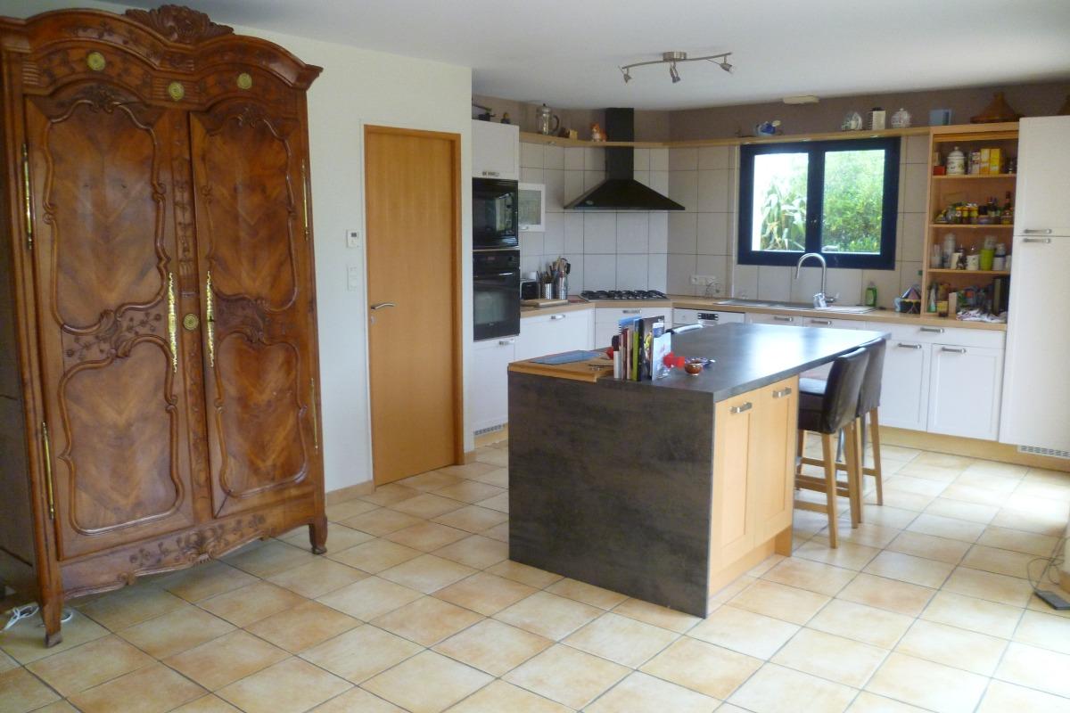 espace cuisine toute équipée - Location de vacances - Plouguerneau
