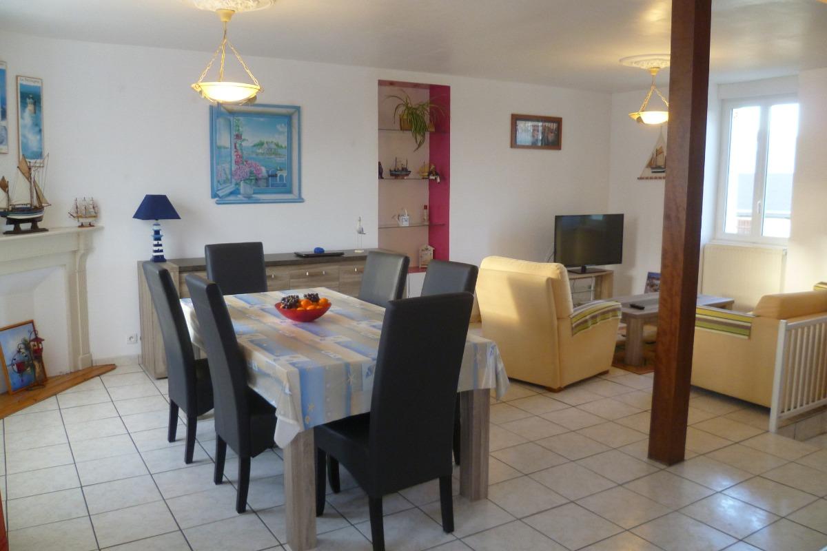 séjour salon - Location de vacances - Plouguerneau