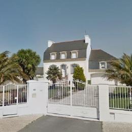 maison avec portail sécurisé et jardin clos et garage - Location de vacances - Plouguerneau