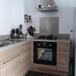 cuisine équipée et aménagée - Location de vacances - Audierne