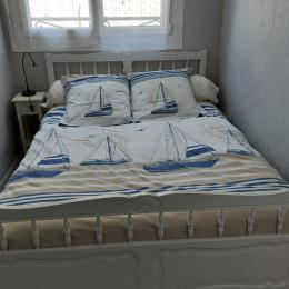 Chambre avec lit de 120 - Location de vacances - Audierne