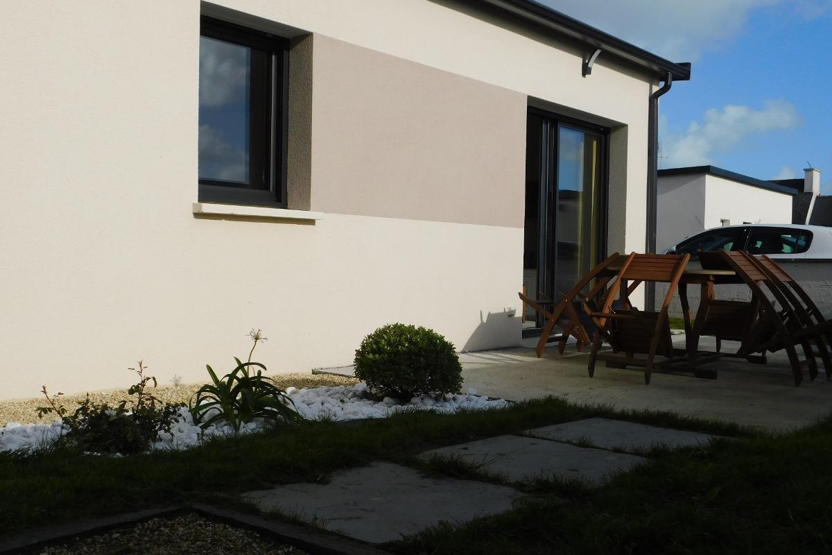 Jardin clos paysager - Location de vacances - Plobannalec-Lesconil