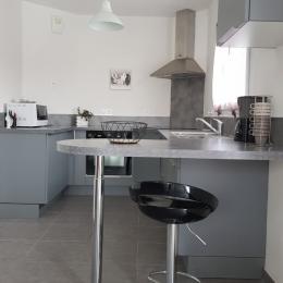 Chambre avec 1 lit 140 - Location de vacances - Ploudalmézeau