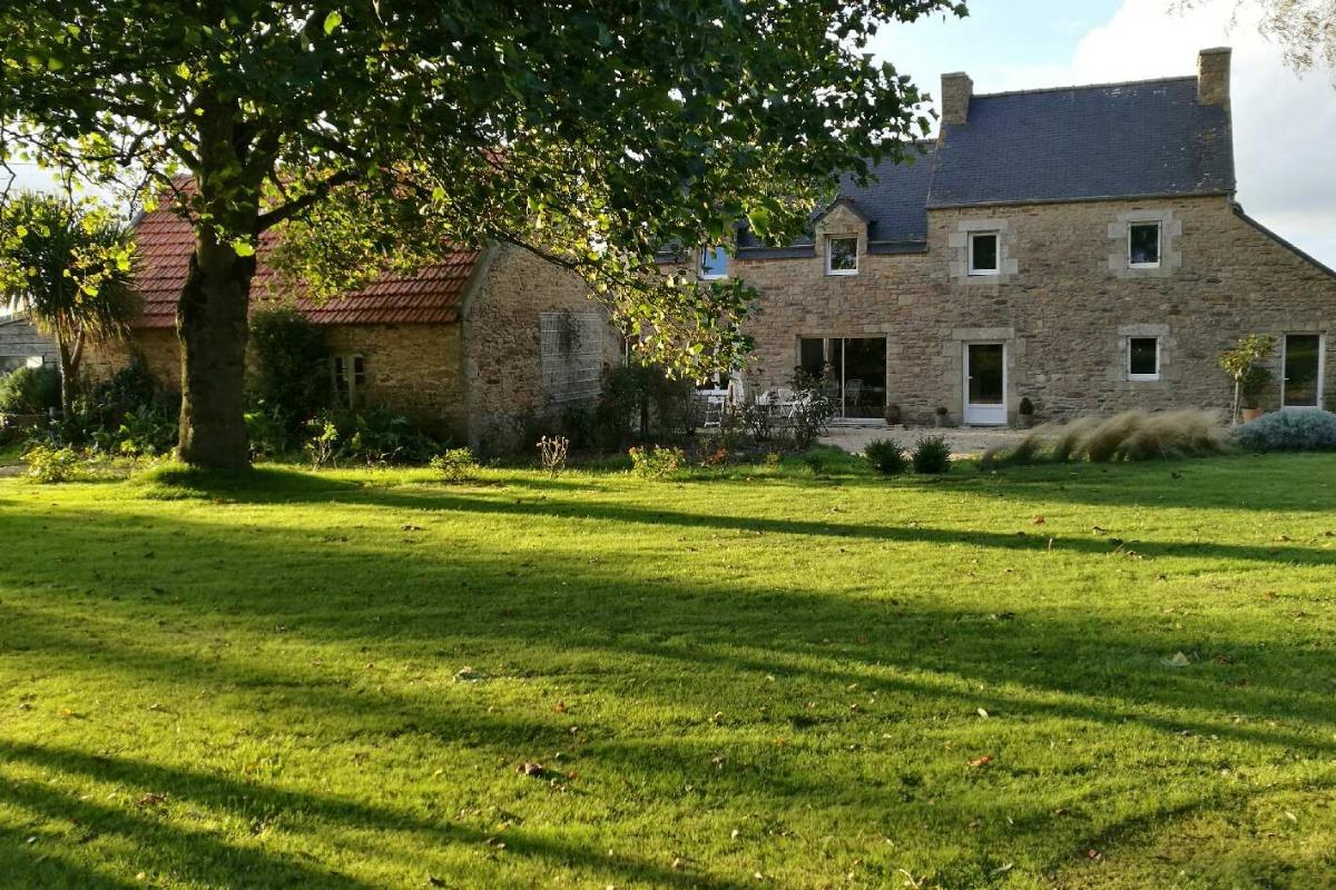 le jardin - Location de vacances - Plounévez-Lochrist