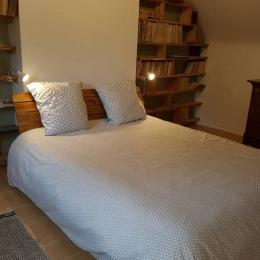 Une seconde chambre avec un lit de 140 - Location de vacances - Plounévez-Lochrist