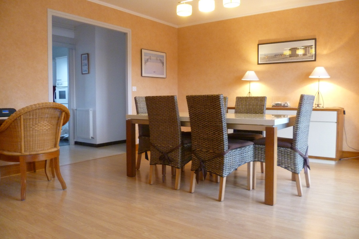 séjour salon exposé sud - Location de vacances - Concarneau