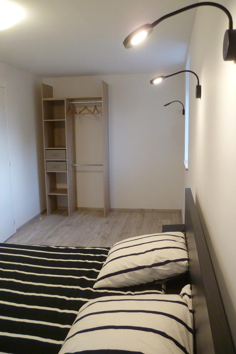 Rangement de la chambre n°2 - Chambre d'hôtes - Ploudalmézeau