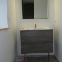 salle d'eau communicante et privative - Chambre d'hôtes - Ploudalmézeau