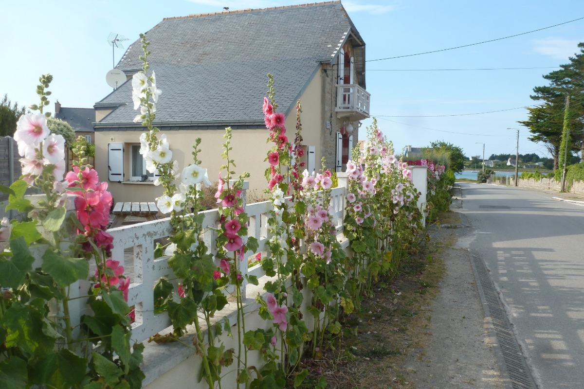 grande terrasse privative et close   - Location de vacances - Guissény