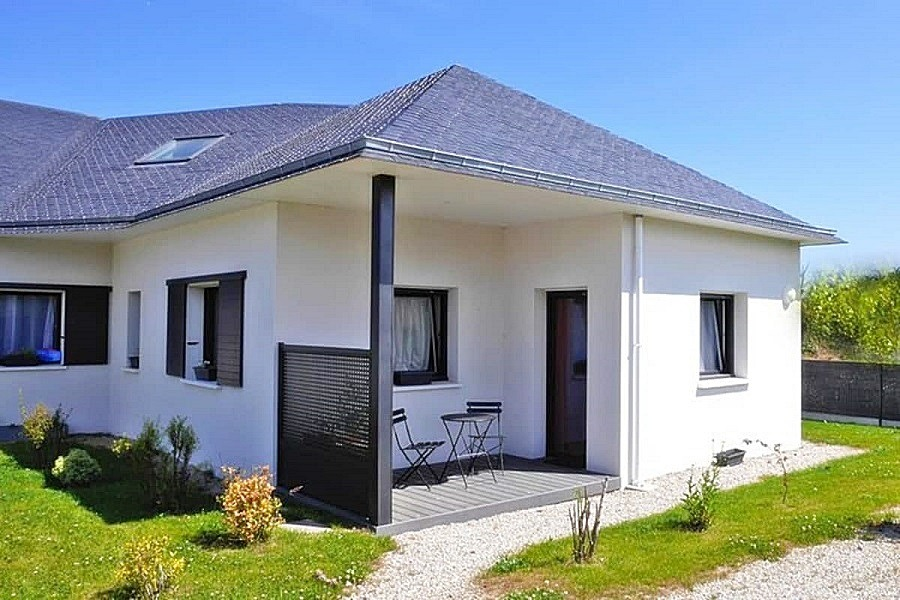 maison de plain-pied avec terrasse et jardin privatifs - Location de vacances - Guissény