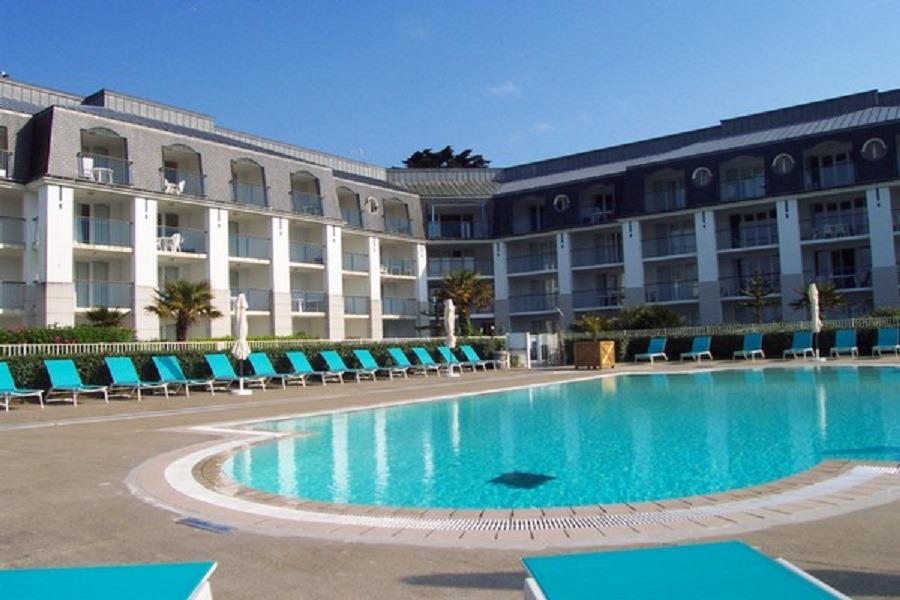 Résidence avec piscine chauffée en été - Location de vacances - Douarnenez