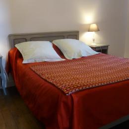 Grande chambre avec lit 140 - Location de vacances - Guissény