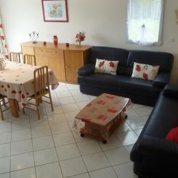 espace salon séjour - Location de vacances - Moëlan-sur-Mer
