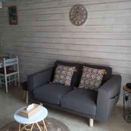 Chambre avec un lit 140 - Location de vacances - Clohars-Carnoët