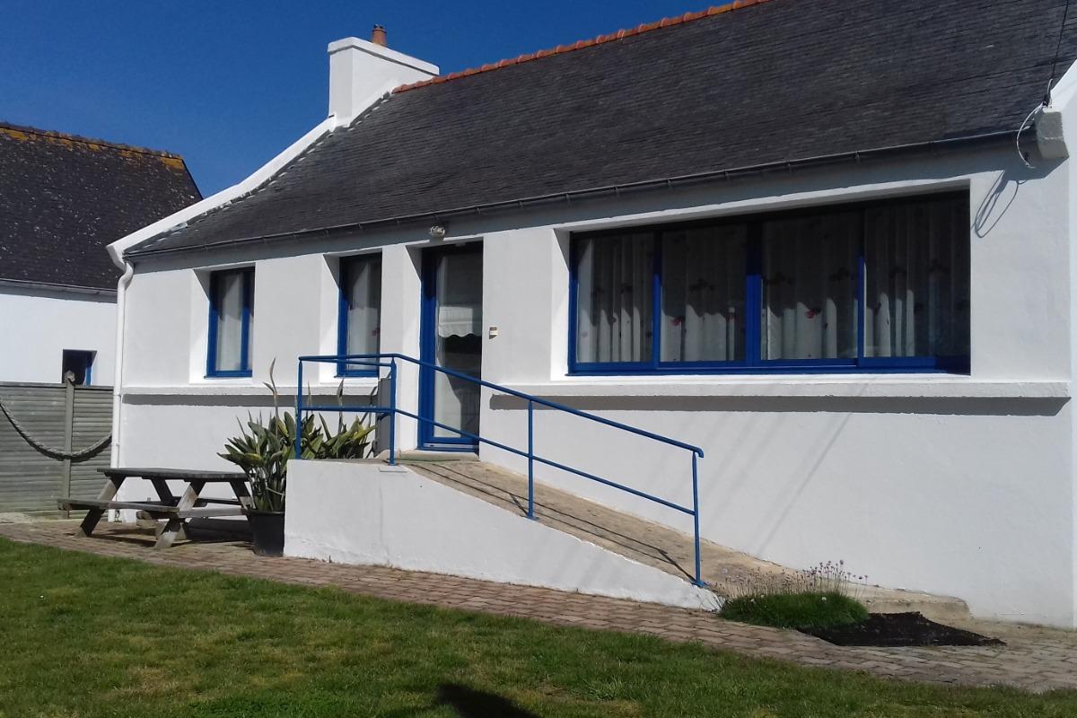 Maison spacieuse 100m à pied de la plage - Location de vacances - Cléder