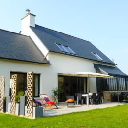 Maison au calme avec jardin clos - Location de vacances - Plouégat-Guérand
