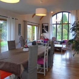 grand séjour-salon - Location de vacances - Plouégat-Guérand