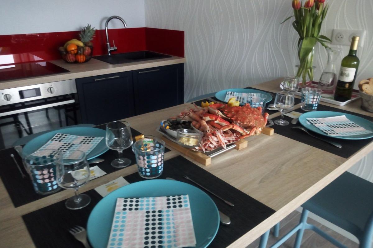 Vu sur la pièce à vivre - Location de vacances - Combrit