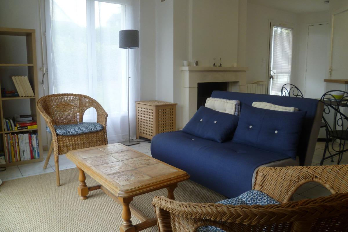 terrasse privative bien exposée - Location de vacances - Landunvez
