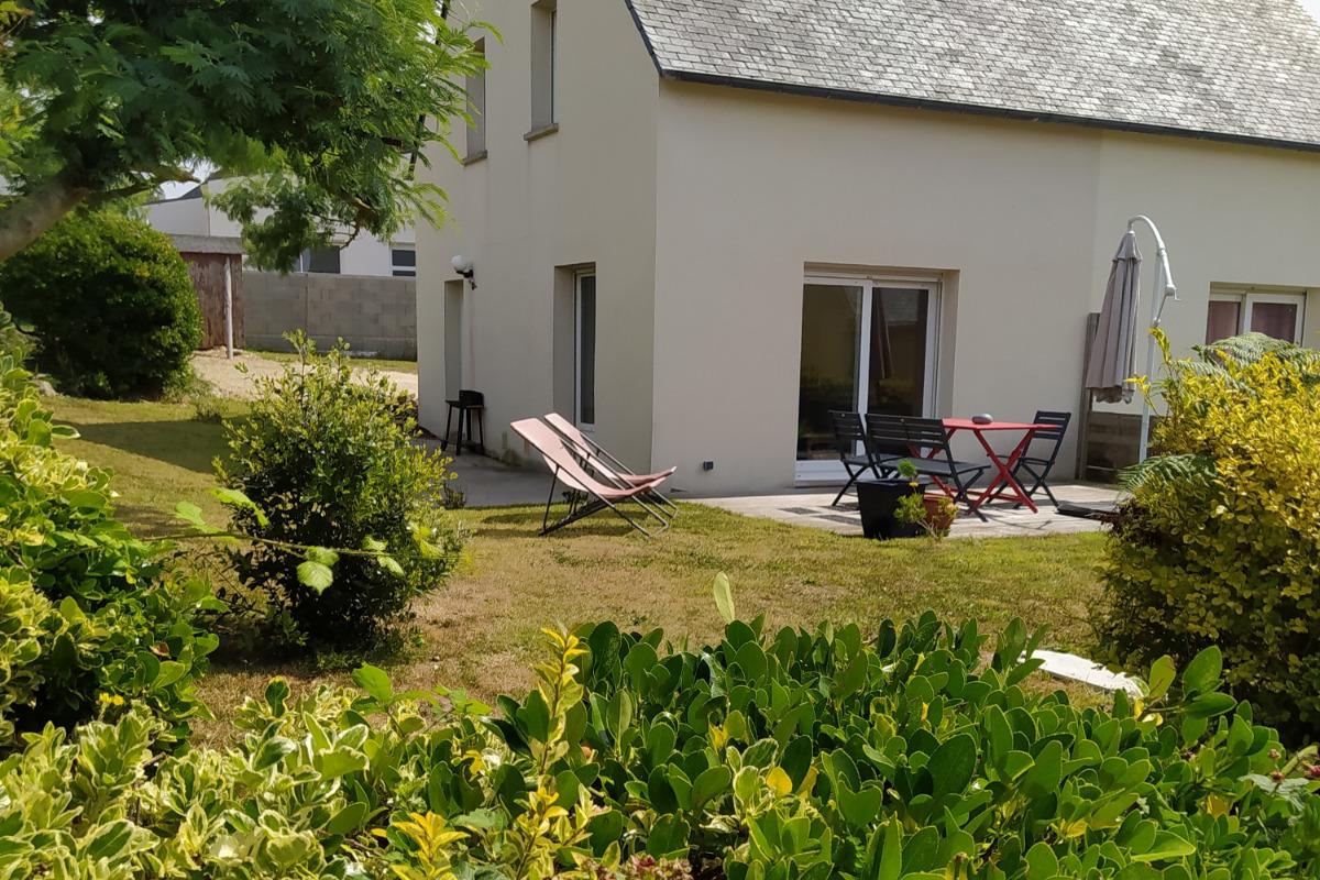 maison avec  terrasse et jardin privatif - Location de vacances - Landunvez