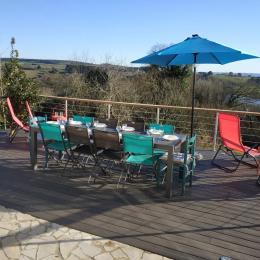 Terrasse ensoleillée - Location de vacances - Crozon
