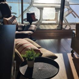vue terrasse direct sur la plage - Location de vacances - Concarneau
