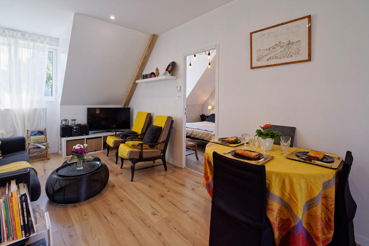 Salon - Location de vacances - Ploudaniel
