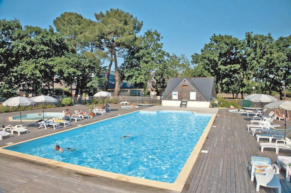 piscine chaufée de debut mai a fin septembre - Location de vacances - Combrit