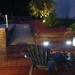 terrasse eclairée - Location de vacances - Combrit