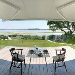 Terrasse avec vue mer - Chambre d'hôtes - Bénodet