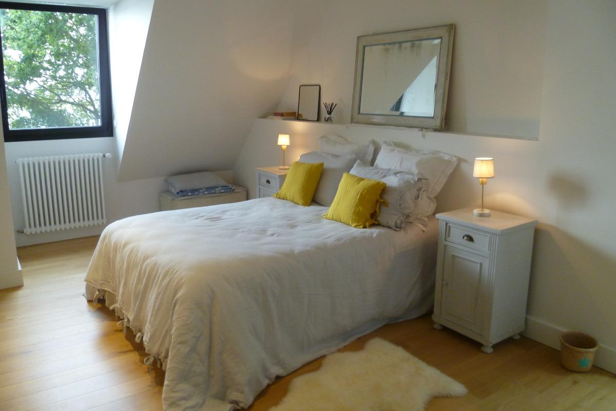 Chambre avec lit 140 - Chambre d'hôtes - Bénodet