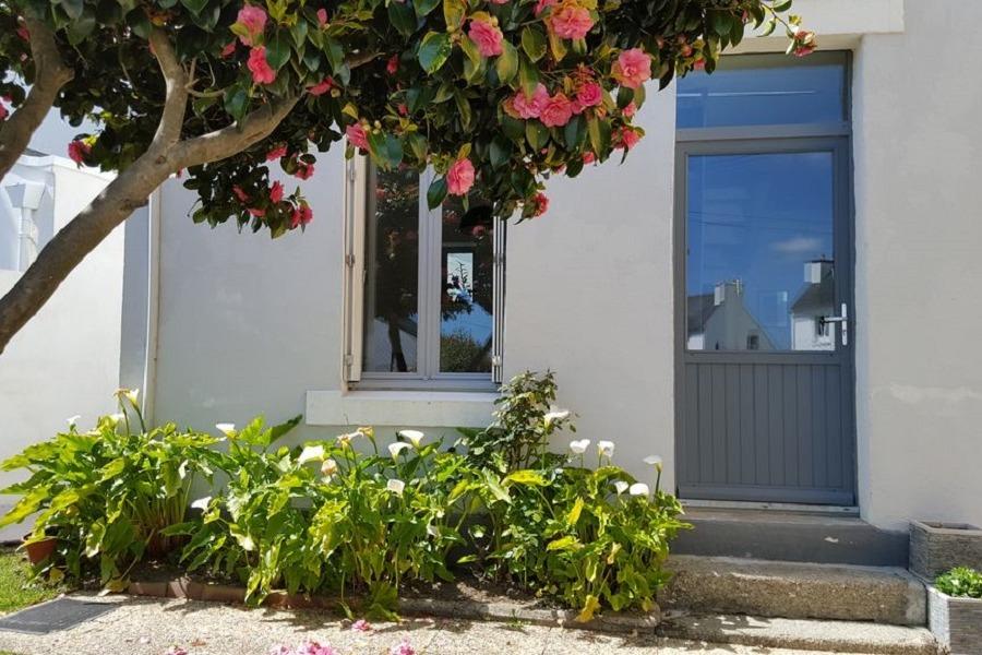 Façade de la maison - Location de vacances - Concarneau