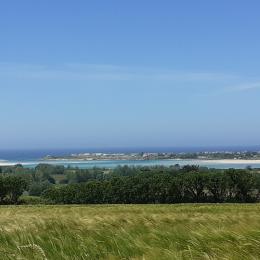 jardin arboré - Location de vacances - Plounévez-Lochrist