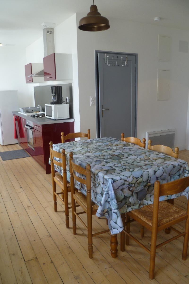 Cuisine / salle à manger - Location de vacances - Locquirec