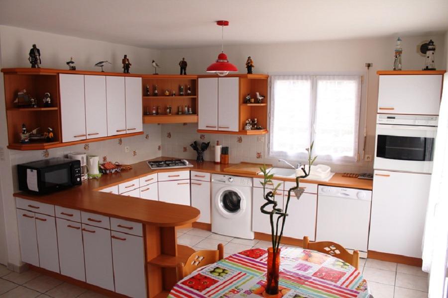 Cuisine / salle à manger - Location de vacances - Treffiagat